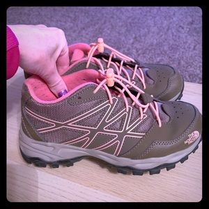 The North Face hiking shoes. Size 5